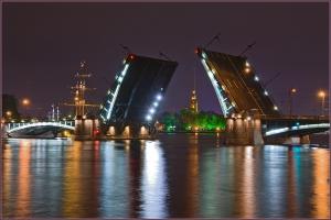 Развод Биржевого моста график
