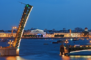 Развод Троицкого моста график