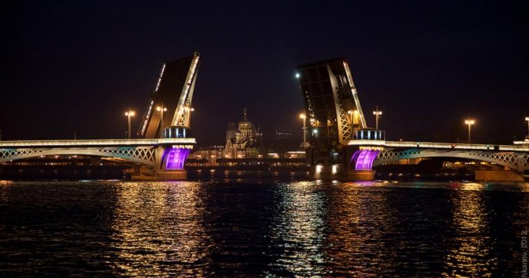 развод мостов в санкт-петербурге фото